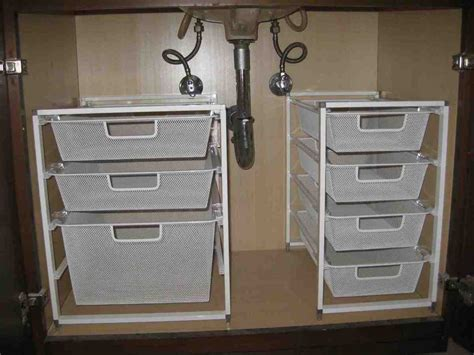 sink drawer storage inadrawer metabox  drawer