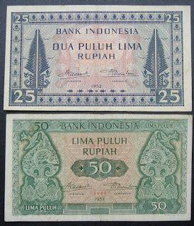 Uang Kuno 500 Rupiah 1957 Macan Langka benda antik langka uang kertas langka koleksi dijual
