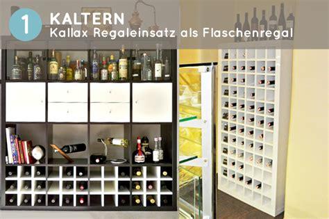 kallax flascheneinsatz mit kaltern wird dein kallax regal zum storage talent
