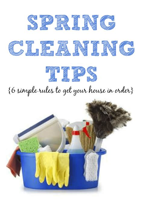 spring cleaning ideas spring cleaning tips