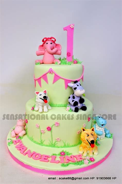 Elephant Figurines The Sensational Cakes Cute Animals Cake Singapore 1st