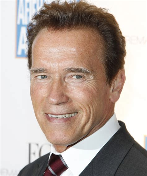 arnold hairstyle arnold schwarzenegger short straight formal hairstyle
