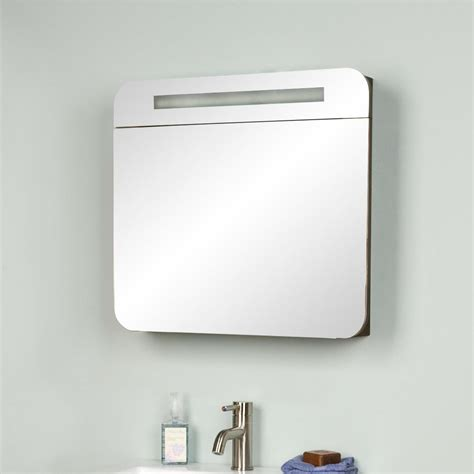 """24"""" Cyrus Wall Mount Vanity with Lighted Medicine Cabinet"""