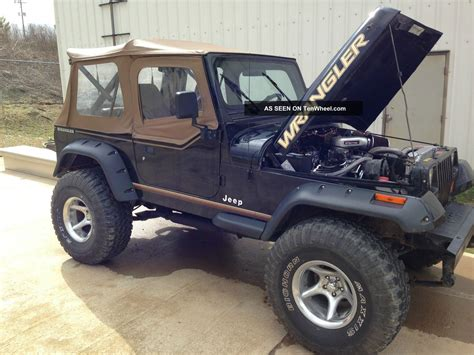 Chevy Jeep 1990 Jeep Wrangler Yj Chevy 350 Conversion Lifted