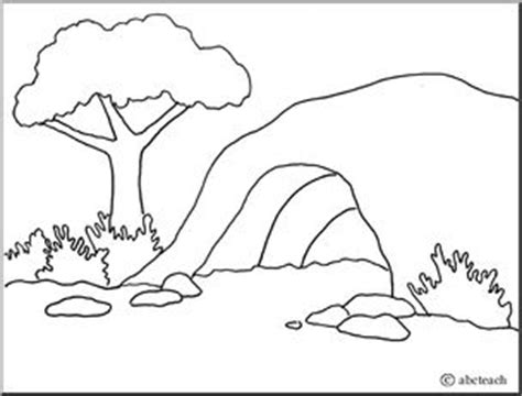 coloring page bear cave cave clipart coloring pencil and in color cave clipart