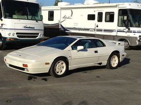 motor auto repair manual 1988 lotus esprit on board diagnostic system sell used 1988 lotus esprit turbo 40th anniversary edition rare 57 of 88 made in colton