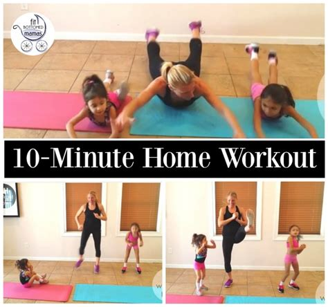 10 minute workout you can do with your
