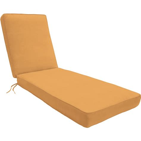 patio chaise lounge cushions wayfair custom outdoor cushions outdoor sunbrella chaise