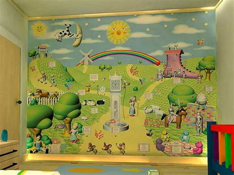 Baby Room Wallpaper Designs - choosing the best nursery wallpapers to decorate your baby