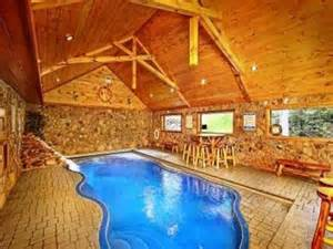 hotel resorts cabin in pigeon forge with indoor pool
