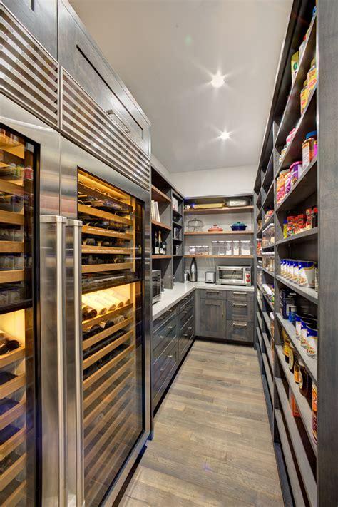 walk  pantry modern kitchen sacramento  mak