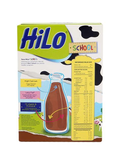 Bubuk Hilo School Hilo School Bubuk Hi Calcium Chocolate Box 250g