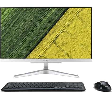 Acer All In One C22 860 Dos acer aspire c22 860 21 5 quot all in one pc silver deals pc world