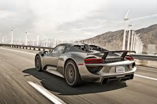 Porsche Spyder 918 Porsche 918 Spyder Meets 959 On Ignition