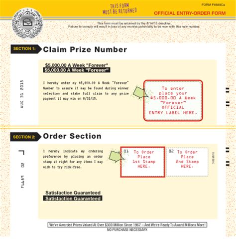Publishers Clearing House Return Label - did you receive a winning number notification plan bulletin from pch pch blog