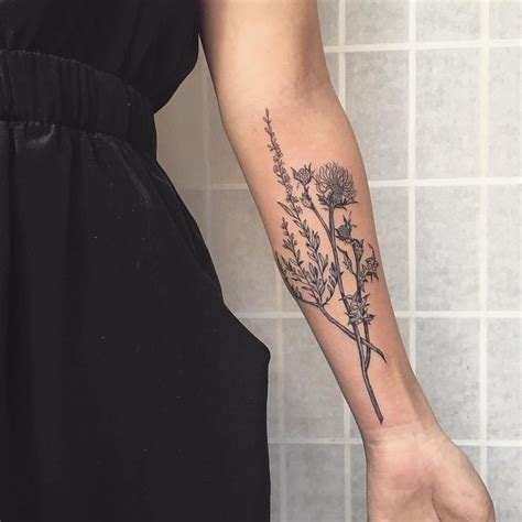 heather flower tattoo designs 25 best ideas about thistle on simple