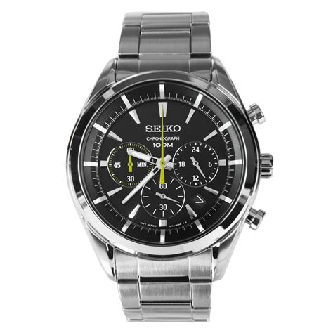 Seiko Chronograph Fb seiko chronograph mens sports ssb087p1