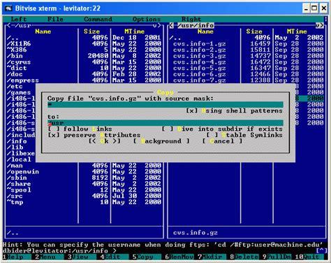ssh console bitvise ssh client 7 35 remote access fileeagle