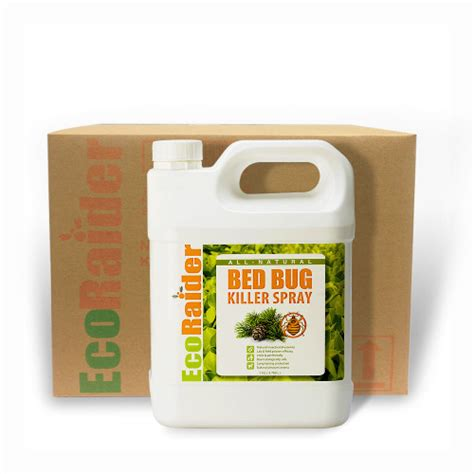 what is the best bed bug killer bed bug killer spray 4 x 1 gallon case ecoraider