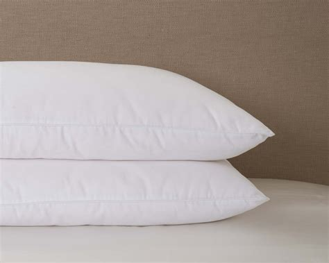 Cotton Filled Pillows by Mari Silk Filled Pillow With Cotton Cover