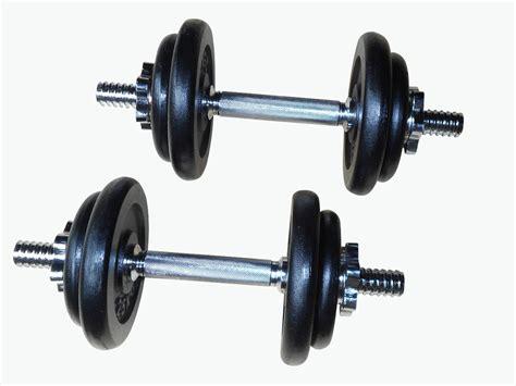 Barbel Dumbel weight set barbell dumbell dumb bell 50kg plate