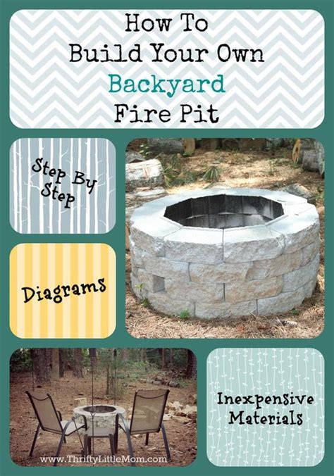 Step By Step Build Your Own Pit The Garden Hose Backyard Pits Backyards And Pits On