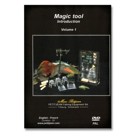 fly magic in your books marc petitjean magic tools fly tying system