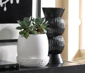 low tide indoor ceramic planter contemporary indoor