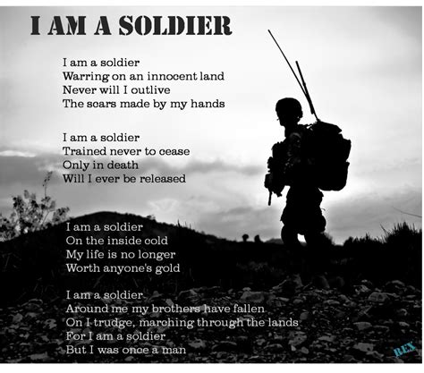 A Soldiers soldier poems