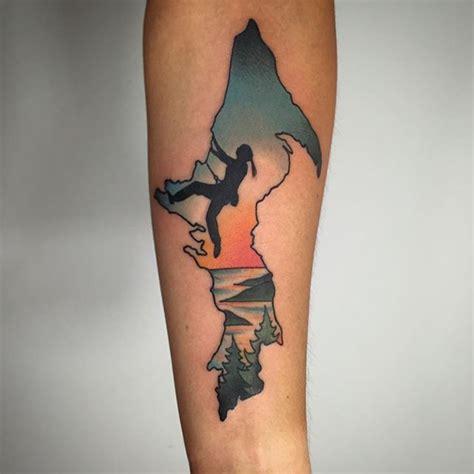 rock climbing tattoos rock climbing ps and peninsula on