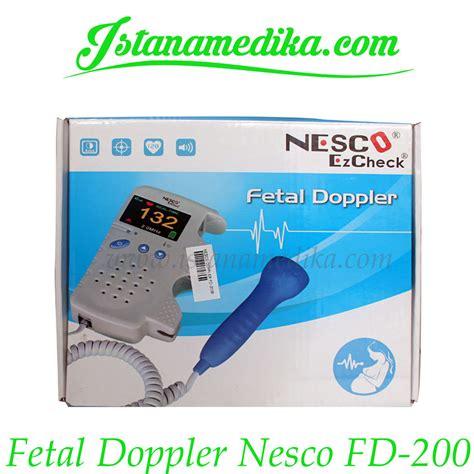 Termurah Fetal Doppler Lotus Lt 800 fetal doppler nesco fd 200 istana medika
