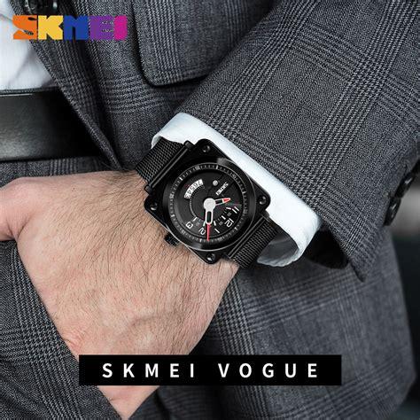 skmei jam tangan pria black stainless steel 1131bgn skmei jam tangan analog pria stainless steel 9172