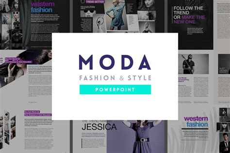 fashion powerpoint templates free moda fashion style powerpoint template by slidehack on