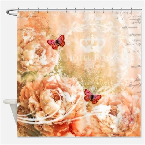 peach shower curtain peach shower curtains peach fabric shower curtain liner