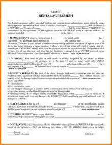 6 free printable rental agreement card authorization 2017