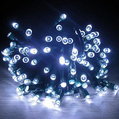 solar christmas party string lights white ecogeekliving