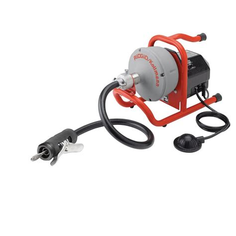 Ridgid Plumbing Snake by Ridgid K 40 Auto Feed Sink Machine 71722 The Home Depot