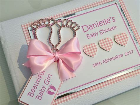 Baby Shower For Guest by Personalised Baby Shower Guest Book