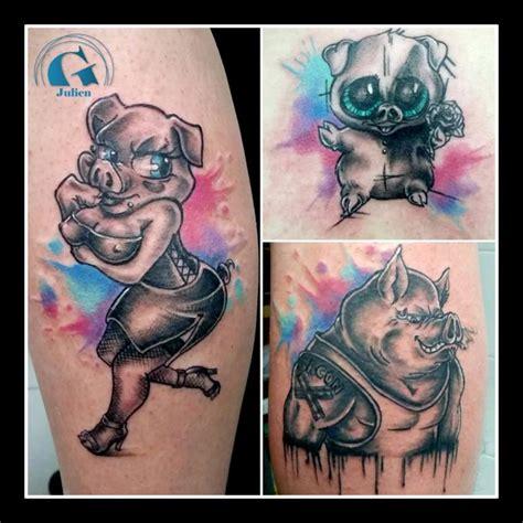 cartoon tattoo julien tatouage graphique graphicaderme
