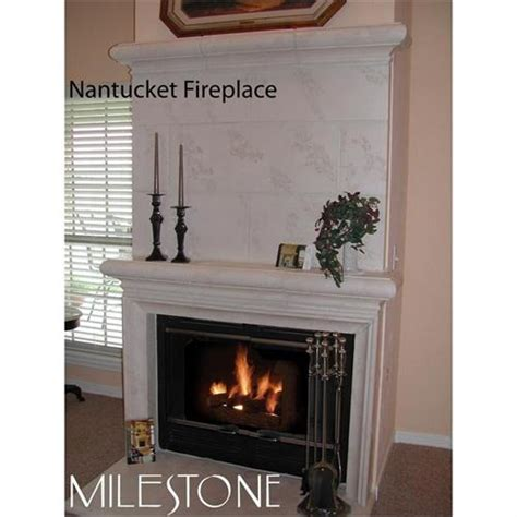 nantucket fireplace surround small traditional nantucket