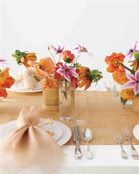 diy centerpieces martha stewart diy table runners martha stewart weddings