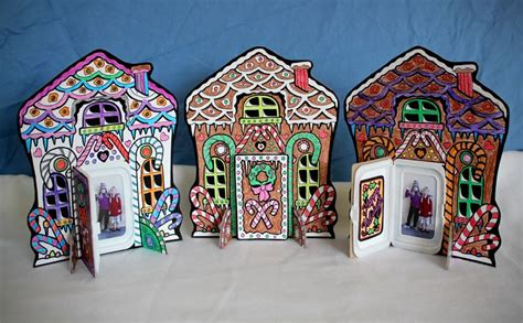 gingerbread house card template filth wizardry gingerbread house photo cards
