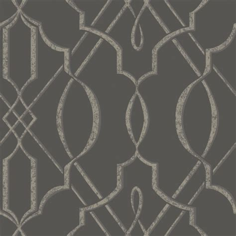 wallpaper grey modern arabesque design wallpaper gray sle contemporary