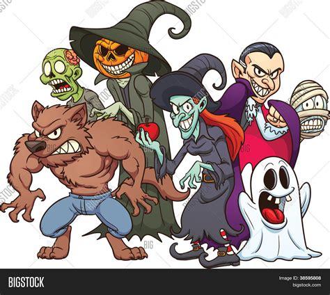 imagenes monstruos halloween vectores y fotos en stock de monstruos de halloween