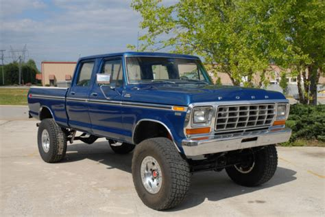 bob brown gmc seller of classic cars 1978 ford f 250 blue blue