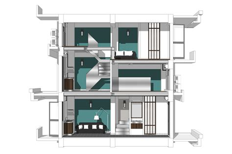 smt leela devi house 20 x 50 1000 sqft floor plan and home design ro gallery of longnan garden social housing