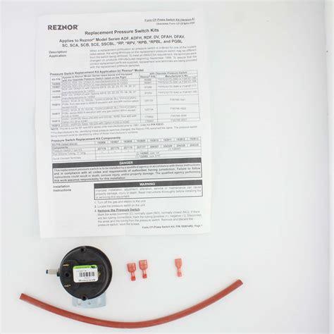 reznor heating unit wiring schematics reznor gas heaters