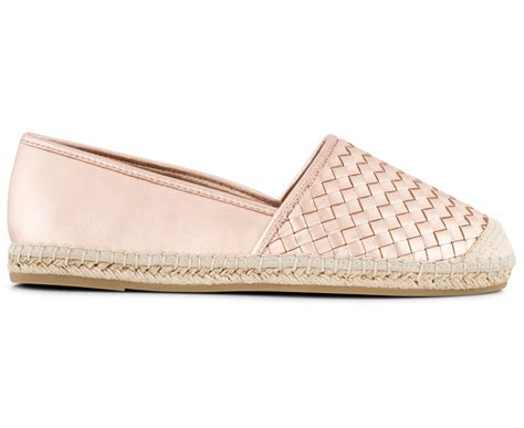 Hush Puppies Rosegold Brown Leather hush puppies s hosier leather flat gold ebay