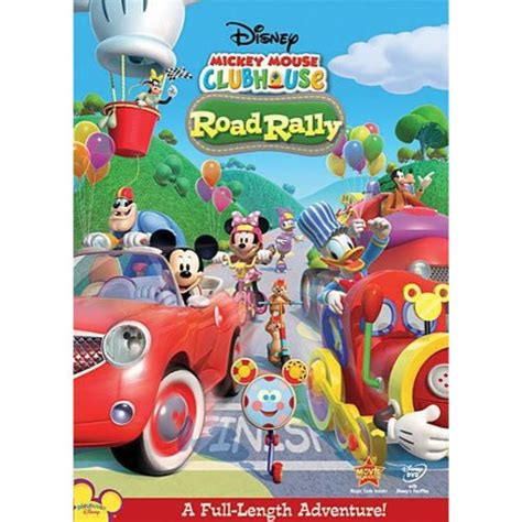 Mickey Mouse Clubhouse Road Rally by Mickey Mouse Clubhouse Road Rally Widescreen Walmart