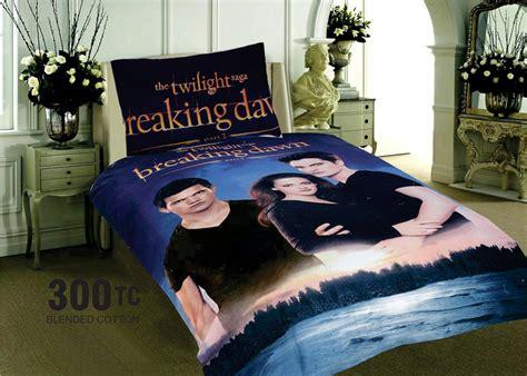 Twilight Saga Bedding Set New Twilight Saga Single Size Bed Cotton Blend Quilt Doona Duvet Cover Set Ebay